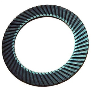 Serrated Safety Disc Lock Washer
