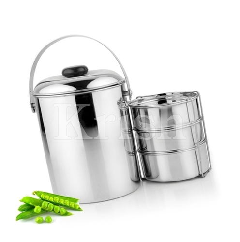 Deluxe Tiffin - 3/4 Compartment