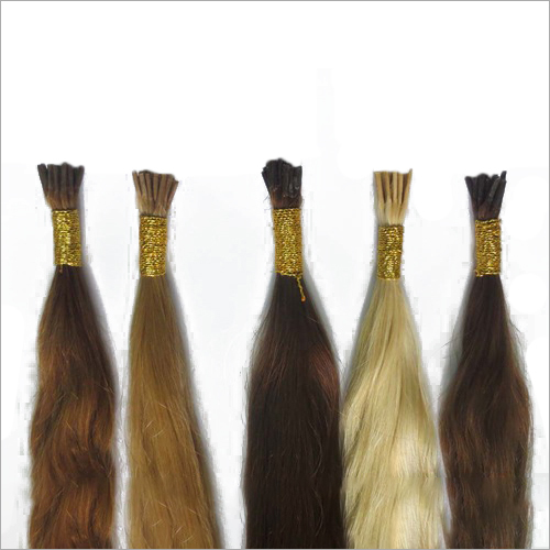 I Tip Colored Hair Extension