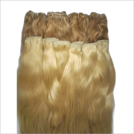 Weft Colored Remy Hair
