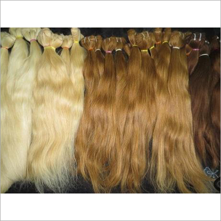 Machine Weaving Blonde Hair