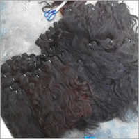 Indian Human Hair In Weft