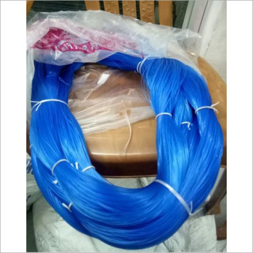 Blue Monofilament Line