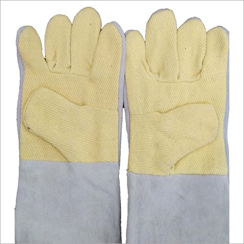 PU Half Kevlar Leather Gloves