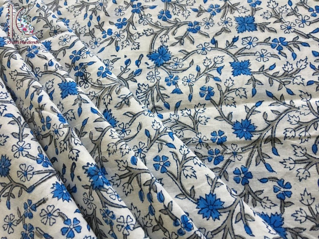 Floral Jaal Print Fabric
