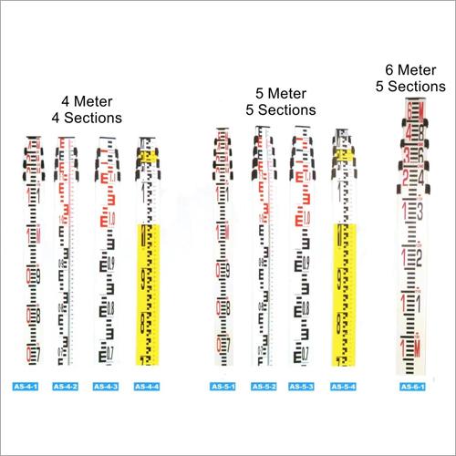Aluminium Telescopic Leveling Staff Or Staves