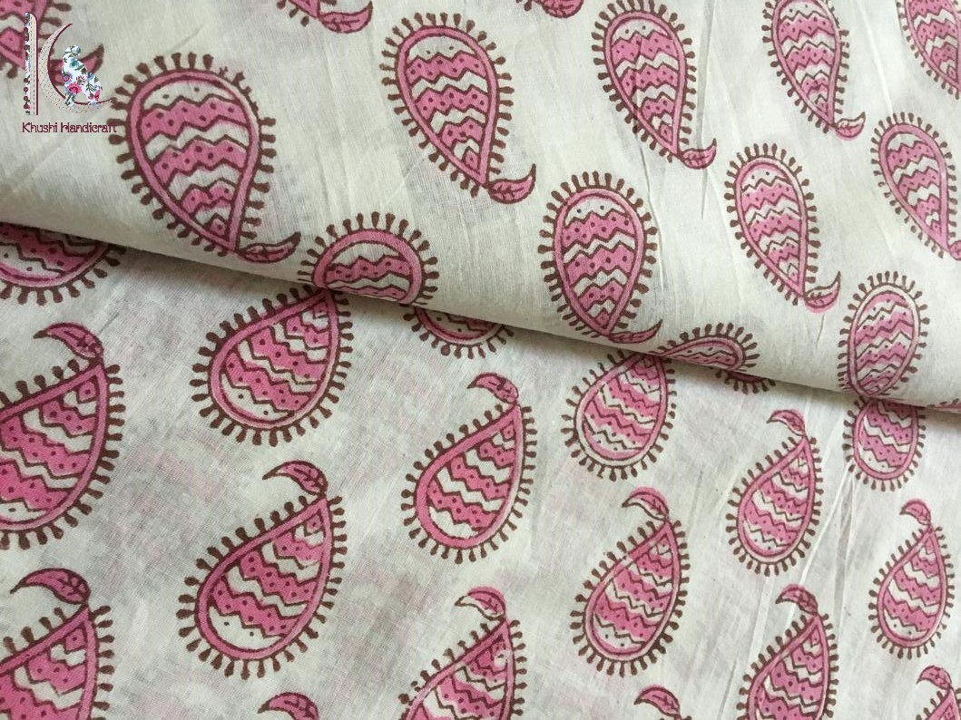 Paisley Print Cotton Fabric