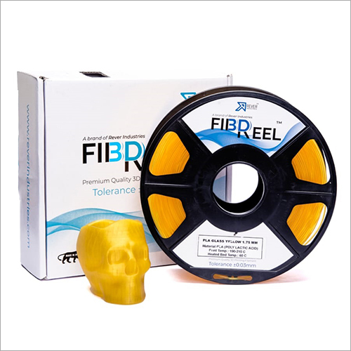 1.75 MM Yellow 3D Printer Filament
