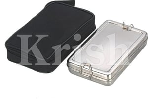 Rectangular Lunch Box With Hot Case