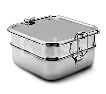 Bento Square Lunch Box - Twin