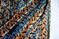 Indigo Blue Dabu Print Fabric
