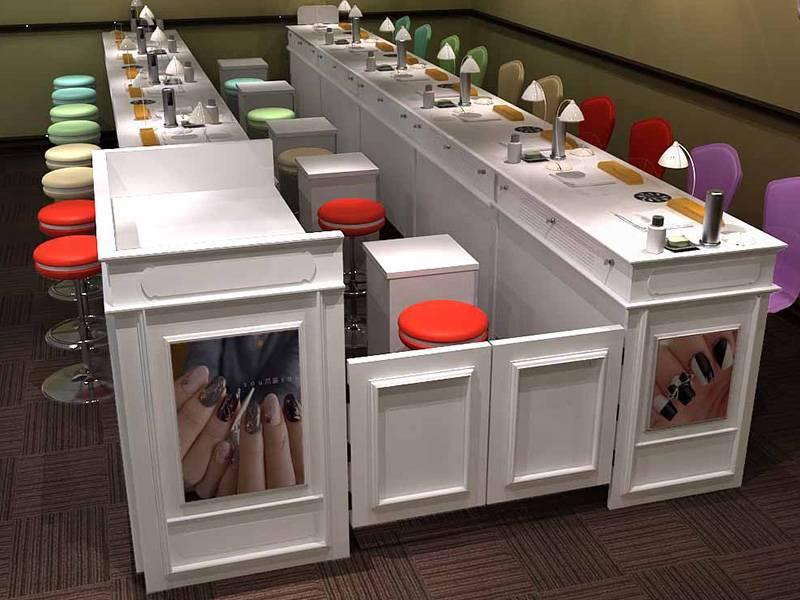 Manicure Beauty Salon Shop Furniture Manicure Table