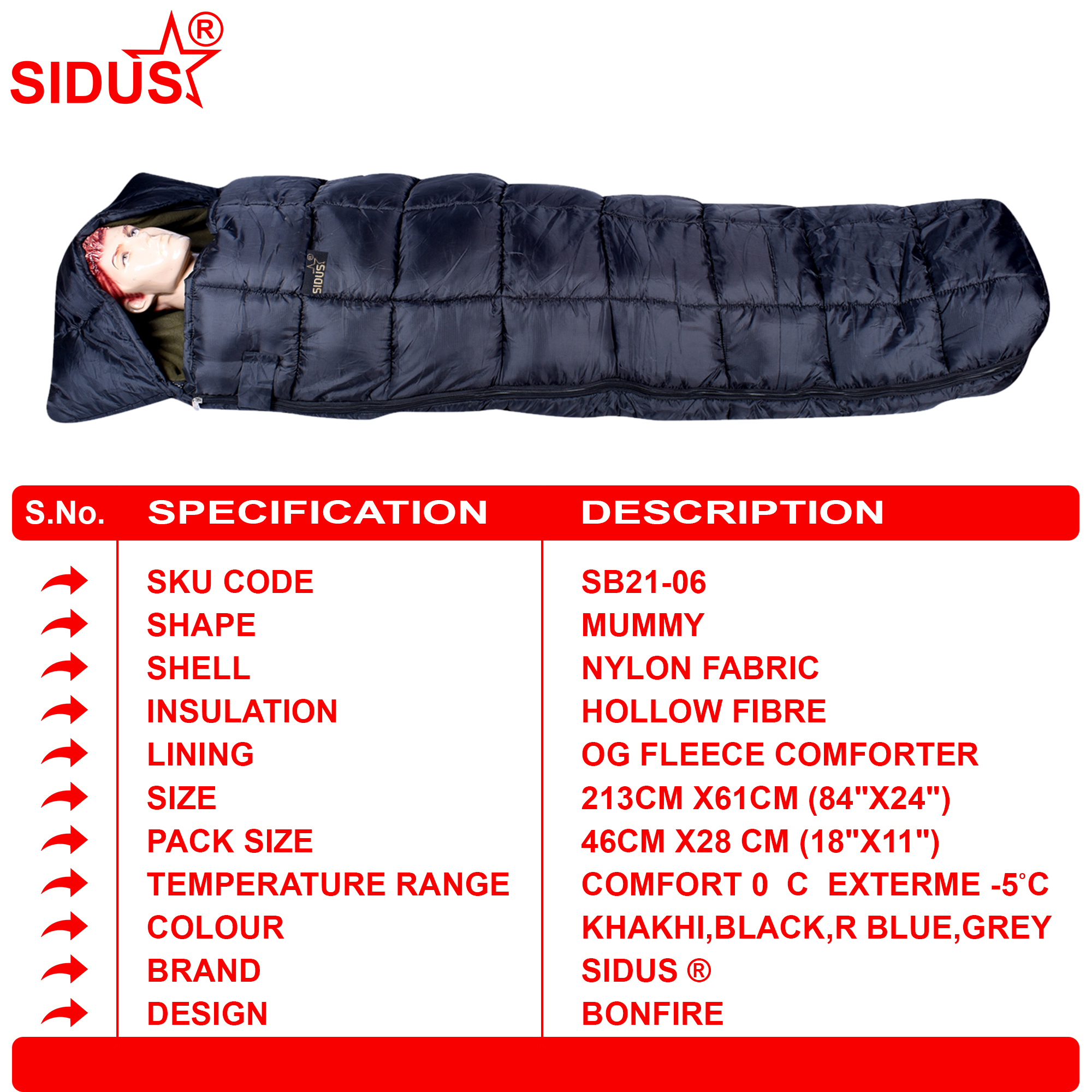 Multiple Sleeping Bag