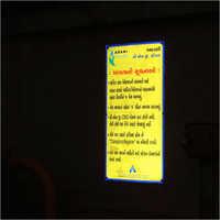Road Radium Signage
