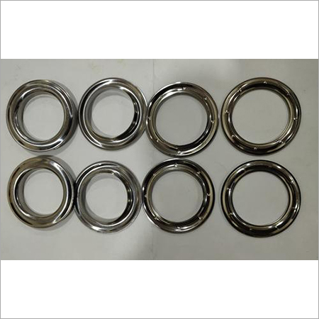 Stainless Steel Curtain Eyelet, Shape Round