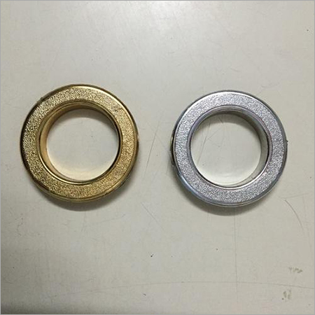 Silver And Golden Window Curtain Rings