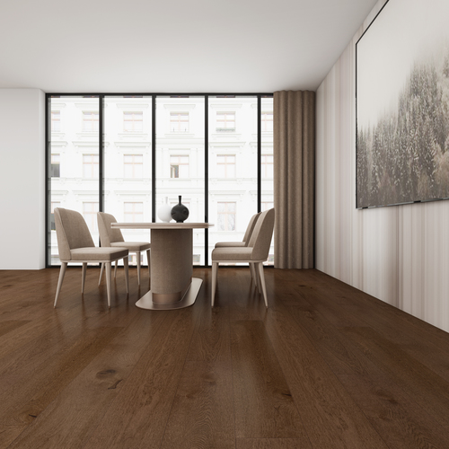 Caramel Oak Engineered Flooring