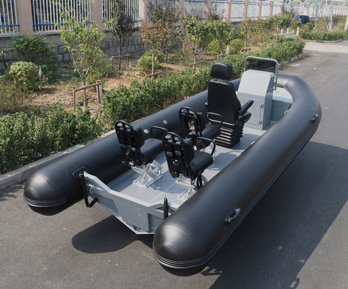 Open Floor Rib Boats