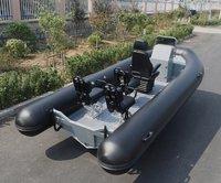 Liya 5.2m Aluminum Hull Rib Boat Inflatable Fishing Boats For Sale