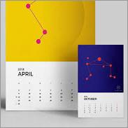 Designer Calendar Prints