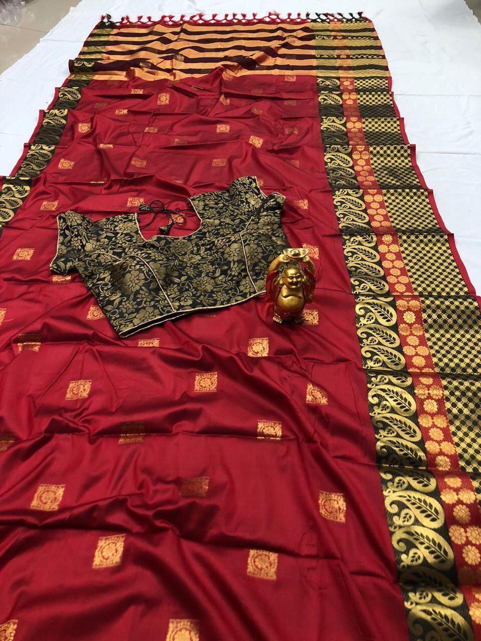 Branded Pure Silk Cotton Sarees