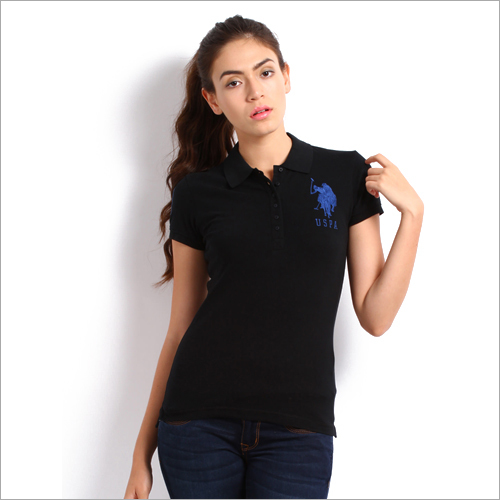 Ladies Plain Polo T-Shirt