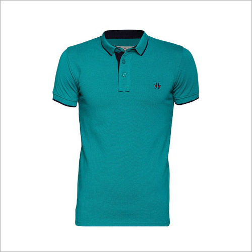 Mens Polo Plain T-Shirt