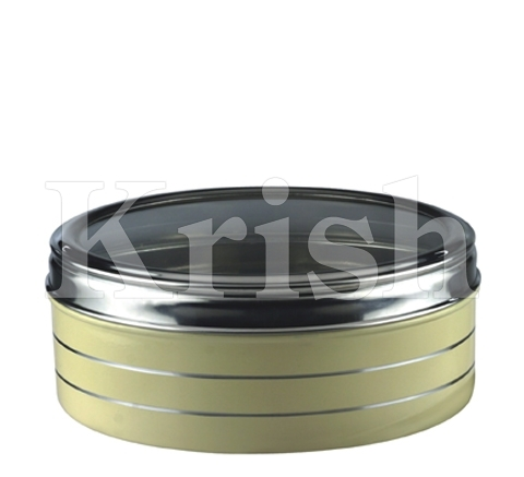 Colored Round Container