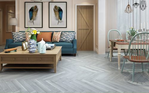 Herringbone Silver Oak