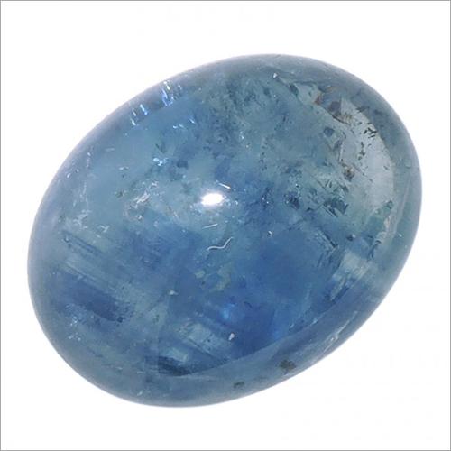 كبوشن زرقاء صفير حجر كريم