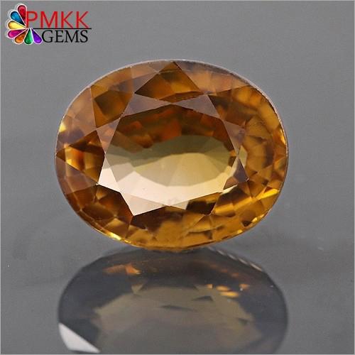 Natural Yellow Zircon Gemstone