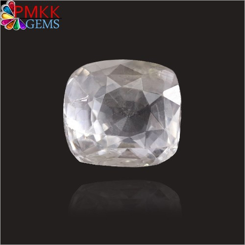 White Sapphire Safed Pukhraj Gemstone