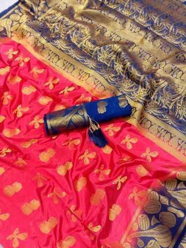 Kanjivaram Jacquard Silk Saree