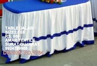 Designed Chair And Table Cover