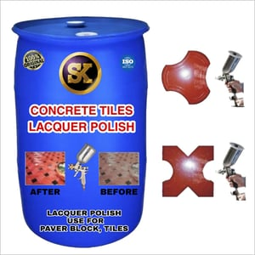 Concrete Tiles Lacquer Polish Making Machine