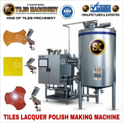 Tiles Lacquer Polish Making Machine