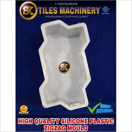 Silicone Plastic Zigzag Mould