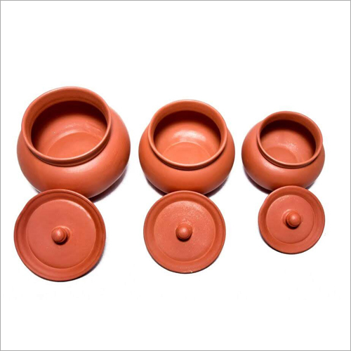 Terracotta Clay Mathani Set