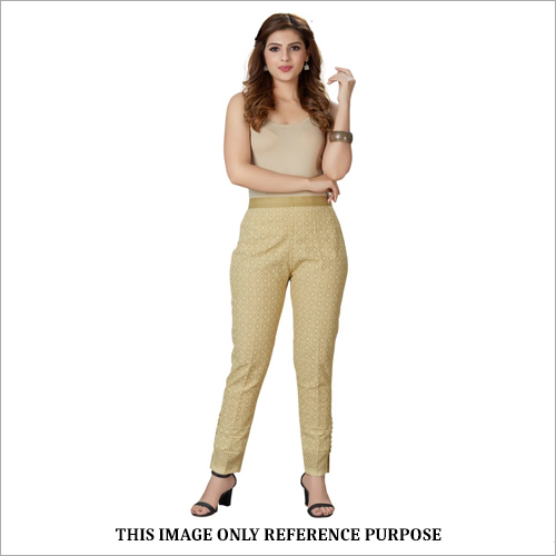Chikan Cotton Pant