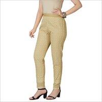 Chikan Cotton Pant