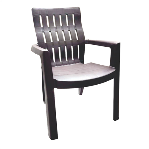 Plastic Chair With Armrest