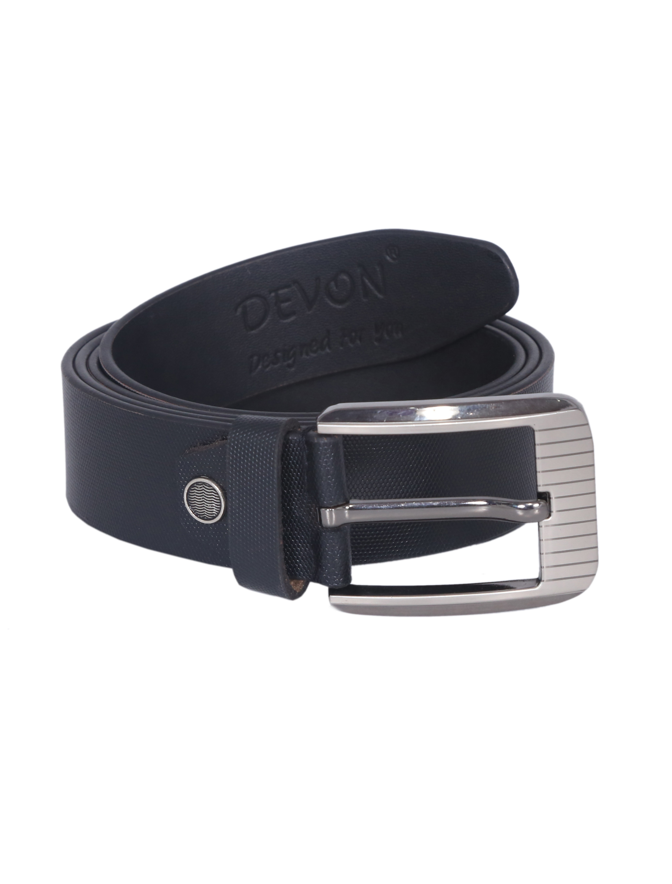 Mini Black Leather Belt