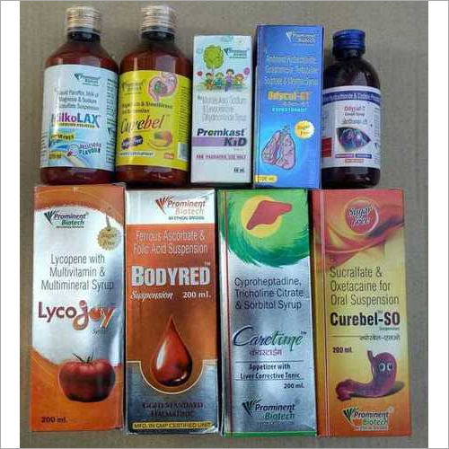 Dry Syrups,Syrups & Suspensions PCD & Franchise