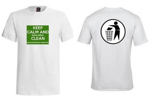 Promotional Swachh India T Shirt