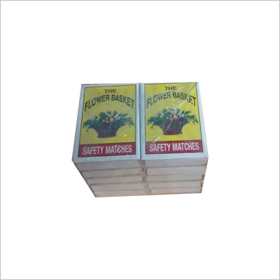 Stanard Size Match Boxes Pvc Packing