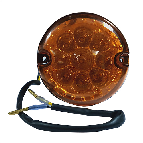 9 LED Direction E-Rickshaw Light (Amber)