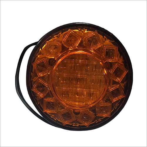 Direction Round E-Rickshaw Light (Amber)