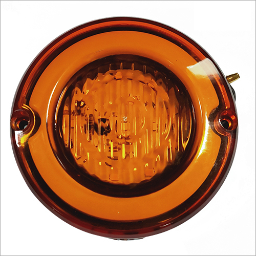 Direction Round E-Rickshaw Light (Amber) with DRL