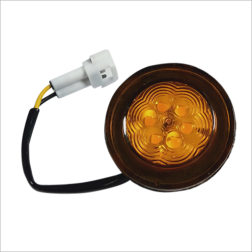 Front Direction Round Light 6 LED (Amber)