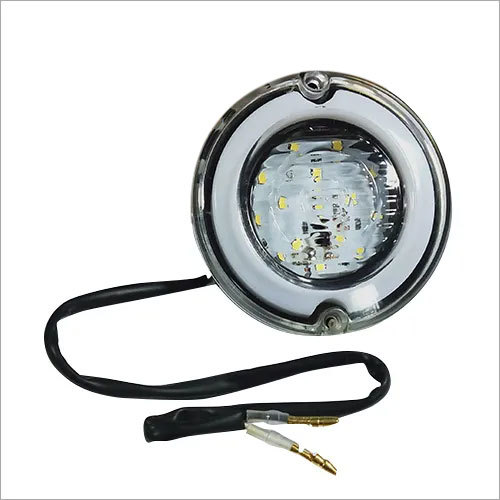 Reverse Round E- Rickshaw Light (White) 33 LED